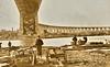 Naval militiamen of New York guarding the new Hell Gate Bridge, New York City - 1917 (SSAVE over 10 MILLION views THX) Tags: nationalguard worldwari thegreatwar unfit homeguard 1917 1918 ww1