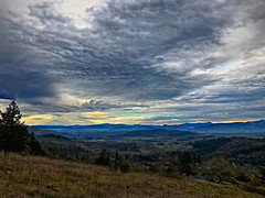 Southeast from Mount Baldy (piranhabros) Tags: fall november clouds southeast eugeneoregon mountbaldy