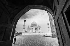 "The Taj (Well-Bred Kannan (WBK Photography)) Tags: wbkphotography wbk ""wellbred"" kannanmuthuraman kannan nikon nikond750 d750 india indian weekendwalk incredibleindia travelphotography travel traveler msb madrasshutterbugs agra uttarpradesh taj tajmahal architecture monuments blackandwhite monochrome"