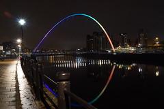 DSC01188 (simonbalk523) Tags: newcastle northern millenium bridge photography sony night