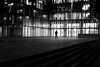 Of light and shade (pascalcolin1) Tags: paris13 homme man nuit night bnf lumière light ombre shade fenetres windows photoderue streetview urbanarte noiretblanc blackandwhite photopascalcolin 50mm canon50mm canon