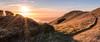 Ridgecrest Sunset Hike (Matt McLean) Tags: bayarea bolinas california hiking landscape marin panorama path sunset tamalpais trail stinsonbeach unitedstates us