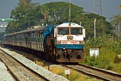TLGP - MYS Pass. (B V Ashok) Tags: talaguppamysore tlgpmys 56275 passenger swr birur rrb kjm krishnarajapuram emd wdp4 20037 greatphotographers