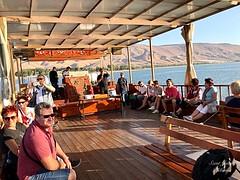 44 - Zarándokok sétahajózása a Galileai - tengeren / Vyhliadková plavba na Genezaretskom jazere