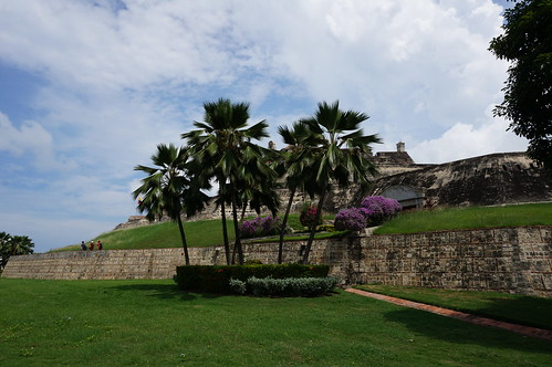 "Castillo San Felipe de Barajas • <a style=""font-size:0.8em;"" href=""http://www.flickr.com/photos/28558260@N04/38816031801/"" target=""_blank"">View on Flickr</a>"