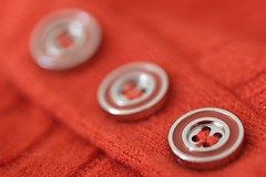 Buttons (Pat's_photos) Tags: button wool hmm macromondays buttonsandbows 7daysofshooting week30 rounded focusfriday