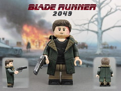 Custom LEGO BLADE RUNNER 2049: Officer K (Will HR) Tags: bladerunner bladerunner2049 officer k lego custom minifigure