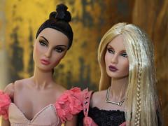 The Ahmadi Sisters (Suburban Tabby) Tags: madlove naturalwonder rayna raynaahmadi nuface integritytoys fashiondoll fashionroyalty 2017 reckless fashionfairytale convention