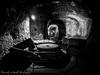 Orvieto Underground, La molazza (frillicca) Tags: 2017 agosto august bn bw biancoenero blackandwhite frantoio galleria gallery molazza molitura monochrome monocromo olive olivepress orvietotr orvietosotterranea orvietounderground panasoniclumixlx100 sotterraneo tufo tunnel underground