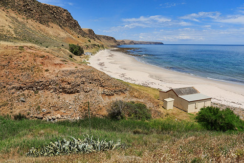 Fleurieu Penninsula hills meet the sea
