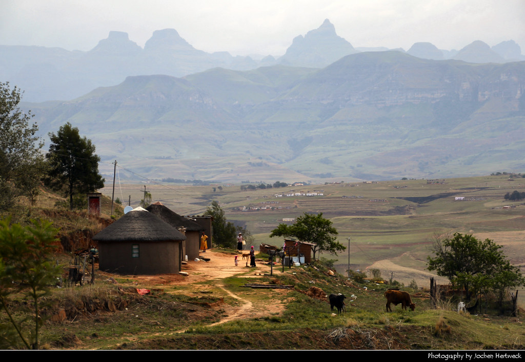 Champagne Valley, Drakensberg, South Africa
