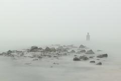 Misty Zeeland (Hanneke Bantje) Tags: mist zeeland brouwerdam workshop langesluitertijd longexporure water koud