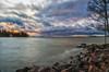 Gazing to the sea... (BigWhitePelican) Tags: finland helsinki sea suomenlahti storm clouds dramatic nature canoneos70d adobelightroom6 niktools 2017 december lauttasaari
