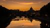 Sunset on St Peter (giulianosalvia1978) Tags: sunset d7100 rome roma stpeter sanpietro vaticano vatican italy italia