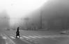 Sarajevo (toncheetah) Tags: fog mist sarajevo trafficlights city center capital bosnia bosna