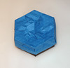 Diamond star 3 tessellation box (mganans) Tags: origami tessellation caja box