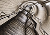 Topsy-turvy - Explored (Joseph Pearson Images) Tags: underground tube metro embankment steps stairs tunnel subway london