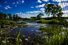 Salto de Piedra. (Lautaro Marchetti) Tags: roja landscape paisaje agua reflejo reflejos reflection green blue azul arboles argentina angular naturaleza nikon nubes nature cloud d7100 granangular