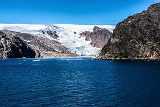 Calving of the Glacier