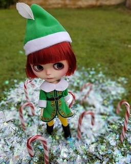 """316/365 Apple : """"I passed through the seven levels of the Candy Cane forest..."""