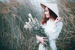 _MG_9936 (Jim _Mi.) Tags: áo dài cô gái hoa
