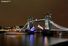 Tower Bridge at night, London UK (Nigel Blake, 16 MILLION views! Many thanks!) Tags: spanning thames low tide towerbridge tower bridge london uk england capital city cityscape nigelblakephotography nigelblake