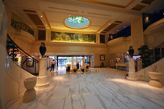 Royal Plaza On Scotts Hotel, Scotts Plaza, Singapore, November 11th 2008 (Southsea_Matt) Tags: november 2008 autumn canon 30d sigma 1020mm royalplazaonscotts scottsplaza singapore hotel lobby