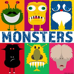 Creating Monsters (Chris Jude Lupetti) Tags: vectors vector adobe adobeillustrator illustrator illustrations monster monsters childrenbook childrensbooks lupetti chrislupetti chrisjudelupetti