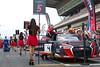 Last adjustments (navy_992) Tags: gt3 blancpain montmelo barcelona motorsport race audi r8 girl pit grid
