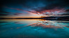 The Sound Of Silence (Tore Thiis Fjeld) Tags: nature le longexposure night darkevening lake forest silence tranquillity surface water panorama colors twilight clouds sunset norway oslo maridalen maridalsvannet autumn autumnsky nikon d800 samyang 14mm