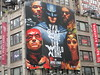 Justice League Billboard 37th and Broadway NYC 3733 (Brechtbug) Tags: justice league standee poster man steel superman pictured the flash cyborg dark knight batman aquaman amazonian wonder woman 37th st broadway midtown manhattan 2017 nyc 11172017 movie billboards new york city advertisement dc comic comics hero superhero krypton alien bat adventure funnies book character near bruce wayne millionaire group america jla team