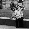DSCN4361 (Akbar Simonse) Tags: denhaag thehague agga haag lahaye sgravenhage holland netherlands nederland people candid woman kid child smartphone streetphotography streetshot straatfotografie straatfoto vierkant square zwartwit bw blancoynegro bn monochrome akbarsimonse