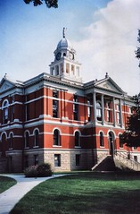 Charlotte MIchigan  - Eaton County Courthouse - Now a Museum (Onasill ~ Bill Badzo) Tags: charlotte mi michigan eatoncounty courthouse museum closed adaptive reuse nrhp historic downtown old vintage photo 1883 building architecture style colonial attraction site free bell tower clock history travel visit tourist onasill justice statue four
