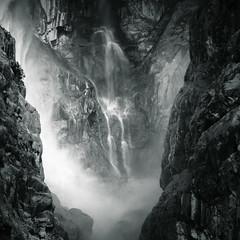 (Rastislav Durica) Tags: waterfall landscape paysage monochrom mood blackwhite canon caucasusmountains kaukaz lightshadows