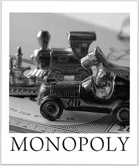 MONOPOLY 50th Anniversary metal pawns (Margareta B.) Tags: macromondays memberschoicegamesorgamepieces