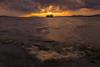 sunset 2855 (junjiaoyama) Tags: japan sunset sky light cloud weather landscape yellow contrast color bright lake island water nature wave fall autumn