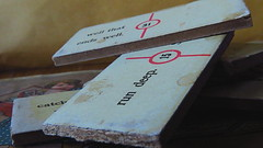 MacroMonday: Game pieces (Hayseed52) Tags: macromonday gamepieces games dominoes old bavaria london research
