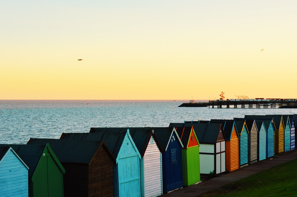 herne bay beach has a serene and idyllic atmosphere kent. Black Bedroom Furniture Sets. Home Design Ideas