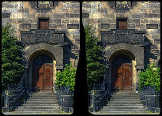 Church of Reconciliation, Dresden-Striesen / CrossEye 3-D / Stereoscopy / HDR / Raw
