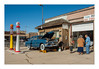 Pete and the JWs (philippe*) Tags: gas station williams arizona vintage classic car route66