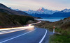 Peter's Lookout (Damien Borel) Tags: mountcook mountaoraki aoraki sunset peterslookout newzealand moutains lights lighttrail travel damienborel boblastic