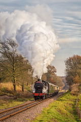 Freshfield Winter Q (Nimbus20) Tags: bluebell wintersteamtrain maunsell southern railway loco locomotive engine santa special christmas heritage eastsussex england sussex south sunshine