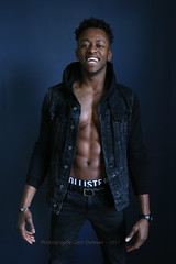 IMG_8939h (Defever Photography) Tags: male model athlete fitness ripped 6pack black guinee africa jeans blue