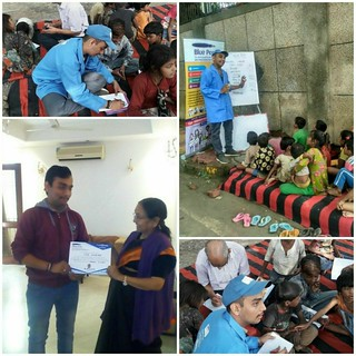 Internship completion of Blue Pen Volunteer Jai Khatri