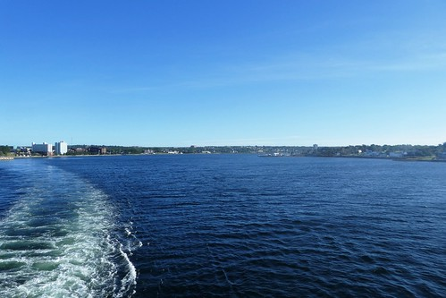 Leaving Sydney Nova Scotia