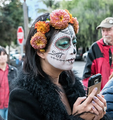 Mask1 (Steve Gumina Photography) Tags: diadelosmuertos sanfrancisco missiondistrict dayofthedead