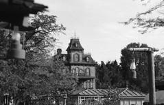 Frontierland (•Nicolas•) Tags: attraction bw camera disney disneyland film fp4 france ilford ilfosol leica m4p nb parc park pellicule tourism tourisme tourist vintage nicolasthomas