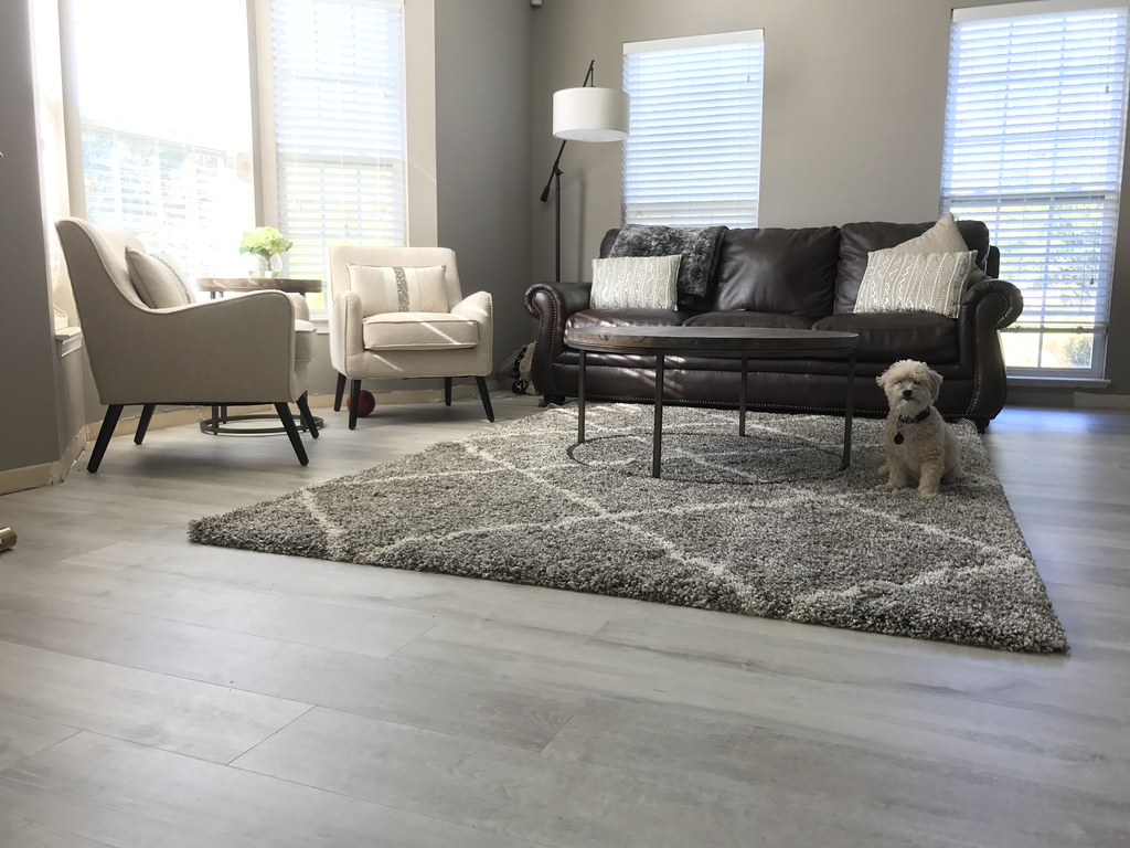 Luxury Vinyl Flooring White Aspen Wide Click Cali Bamboo - Happy feet flooring utah