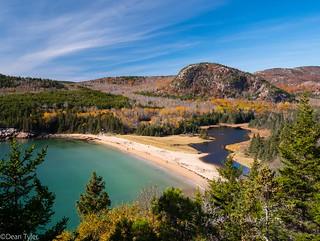 Sand Beach Acadia ME