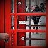 this!_unounocintre (nograz) Tags: nograz london londra telephone d7200 whatdidwelearnfromryanradbyrne19772015rip strano ticket cabina red rosso strange biglietto nikon